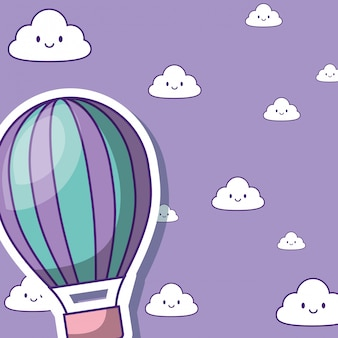 Heißluftballon design