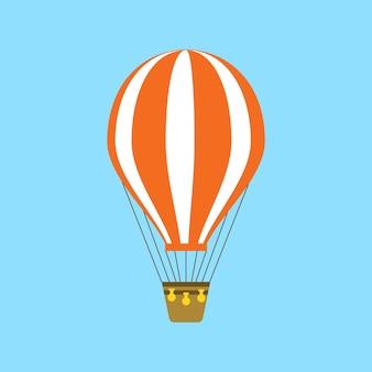 Heißluftballon-symbol