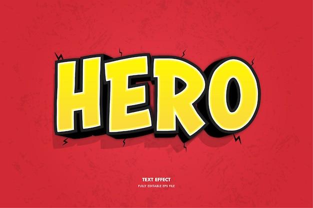 Heldentexteffekt
