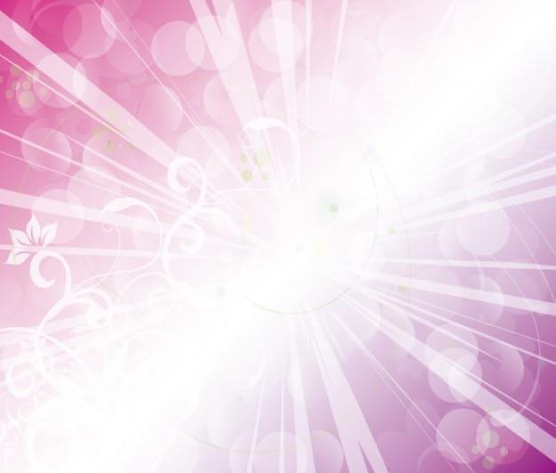 Hell lila mit strahlen und wirbelt hintergrund