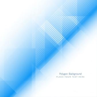 Hellblaue farbe polygonale form hintergrund