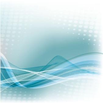 Hellblauen farbverlauf mesh abstrakten hintergrund