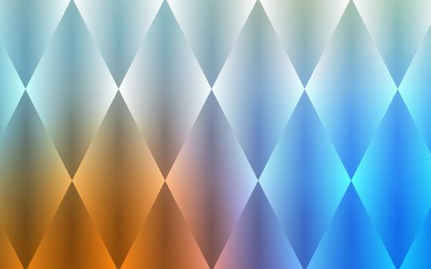 Hellblauer, gelber vektorhintergrund mit rechtecken, quadrate.