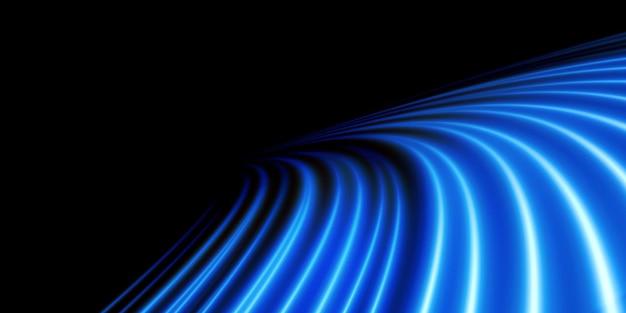 Hellblauer twirl curve-lichteffekt der blauen linie png hellblaue podest-podiumsplattform
