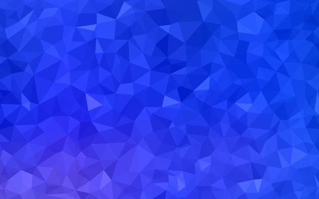 Hellblauer vektor undeutliches dreieckhintergrunddesign
