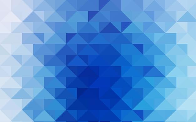 Hellblauer vektorzusammenfassungs-mosaikhintergrund