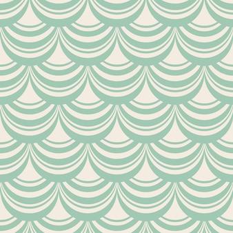 Hellblaues stilvolles abstraktes nahtloses wiederholungsmuster mit zusammensetzung der dekorativen webarten als fensterschatten