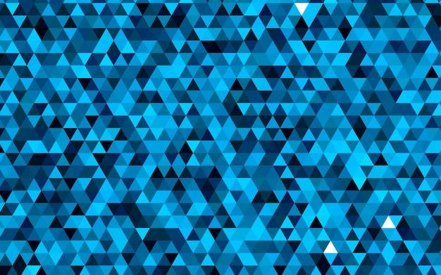 Hellblaues vektor dreieck mosaikmuster