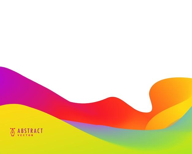 Helle lebendige farbe abstrakten hintergrund design