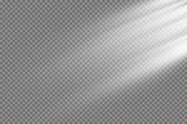 Helle lichteffektillustration