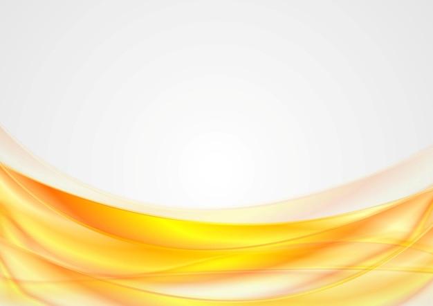 Heller abstrakter glatter gewellter hintergrund. vektordesign