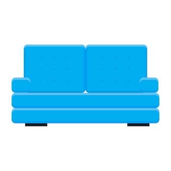 Heller cartoon-couch-patern-hintergrund für design-baby-kinderzimmer-plakat.