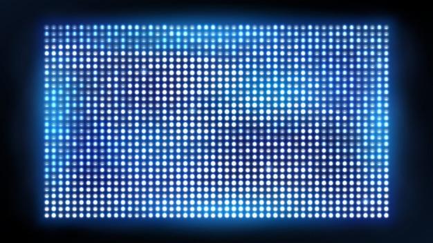 Heller geführter projektionsschirm.