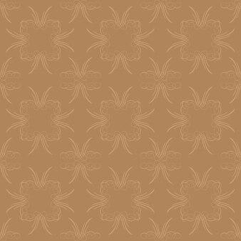 Heller golddekorativer strudel-hintergrund