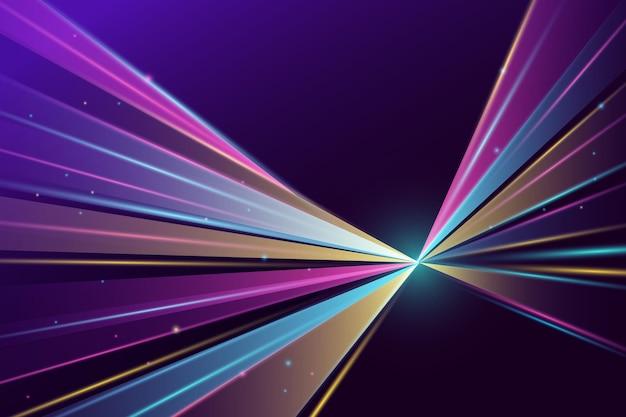Heller hintergrund der gradientengeschwindigkeitsbewegung