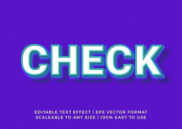Heller realistischer titel-3d-texteffekt