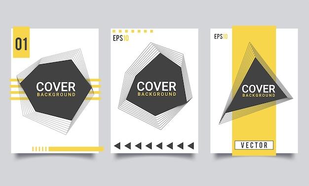 Helles, frisches, abstraktes hintergrund-cover-design mit farbverlauf