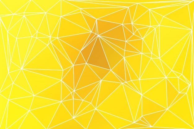 Helles goldgelbes geometrisches mit ineinander greifen.