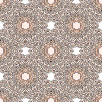 Helles nahtloses paisley-muster. indonesische batik. rote tapete mit paisley und stilisierten blumen. stilisiertes blumenmuster. design für web, stoff, textil, cover, einladung, poster, geschenkpapier