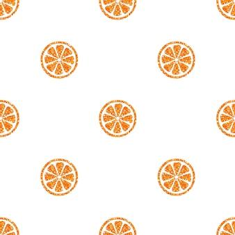 Helles orangenmuster