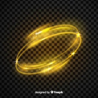 Hellgelber whirl-effekt