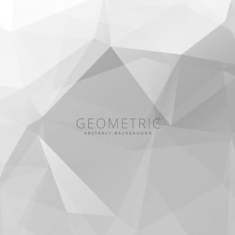 Hellgrau polygonalen hintergrund