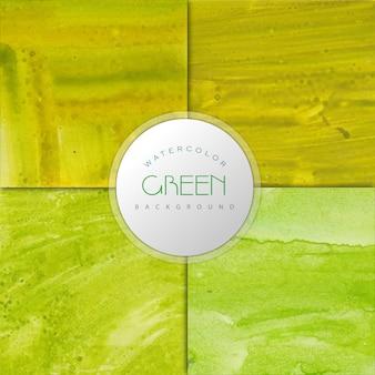 Hellgrüner aquarell effekt hintergrund