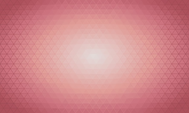 Hellrosa vektor dreieck polygon hintergrund.