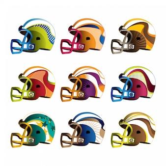 Helme für american football
