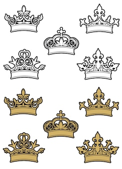 Heraldische kronen