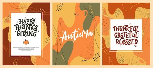 Herbst abstrakte poster und drucke