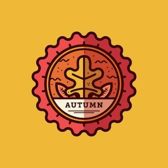 Herbst abzeichen