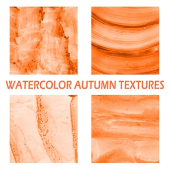 Herbst aquarell hintergrund