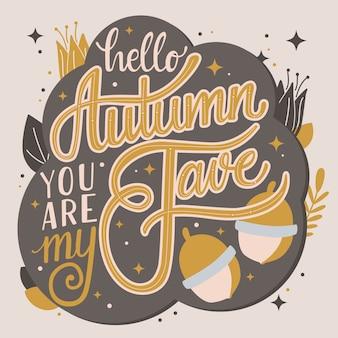 Herbst bist du mein lieblingsbuchstabe