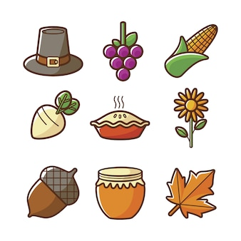 Herbst icon collectio