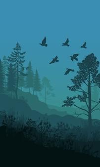 Herbst natur landschaftsvorlage