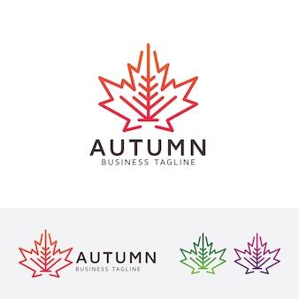 Herbst-studio-logo-vorlage