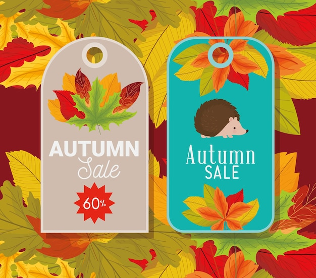 Herbst-tags-symbole