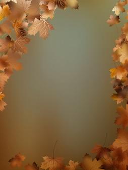 Herbst verlässt hintergrundvorlage.