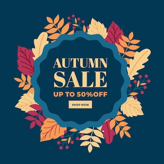 Herbst werbeverkauf