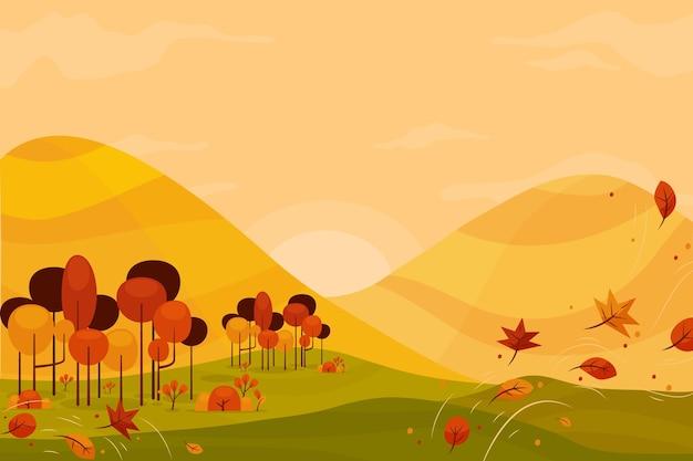Herbsthintergrund bunt