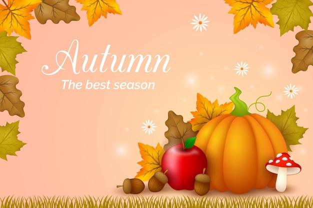 Herbsthintergrundthema