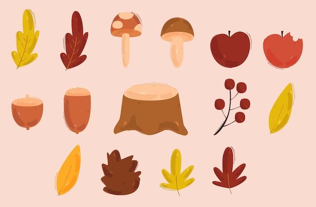 Herbstillustration