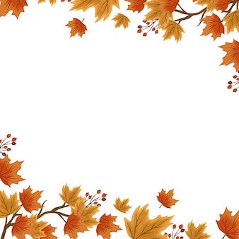 Herbstlaub hintergrund