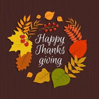 Herbstlaub november natur. september dekorationen aufkleber banner, vintage einladung