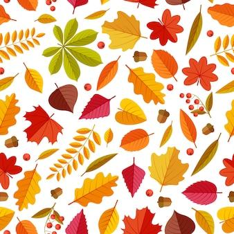 Herbstlaubmuster