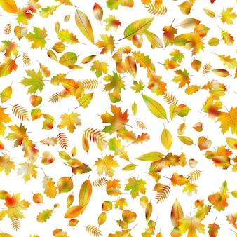 Herbstlicher nahtloser hintergrund.