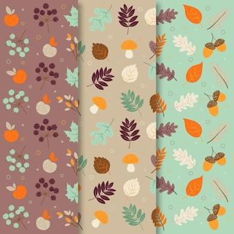 Herbstmuster gesetzt