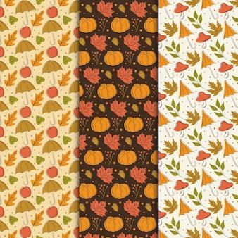 Herbstmusterkollektion