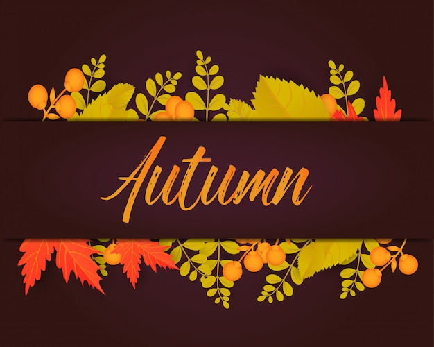Herbstplakat